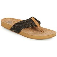 Chaussures Femme Tongs Reef REEF CUSHION STRAND Noir