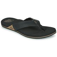 Chaussures Homme Tongs Reef REEF NEWPORT Noir