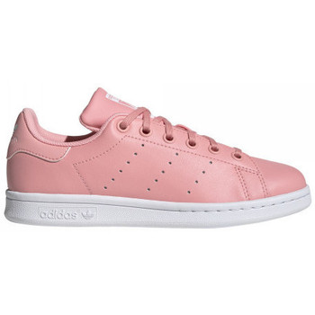 Chaussures Femme Baskets mode adidas Originals Basket  STAN SMITH J - EF4924 ROSE