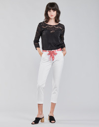 Vêtements Femme Chinos / Carrots Freeman T.Porter CLAUDIA FELICITA bright white