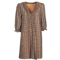 Vêtements Femme Robes courtes Freeman T.Porter JUNA SAMBA Orange