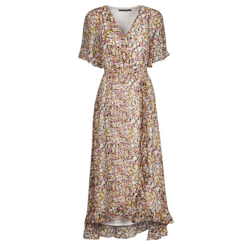 Vêtements Femme Robes courtes Freeman T.Porter ROLINE GARDEN Multicolore