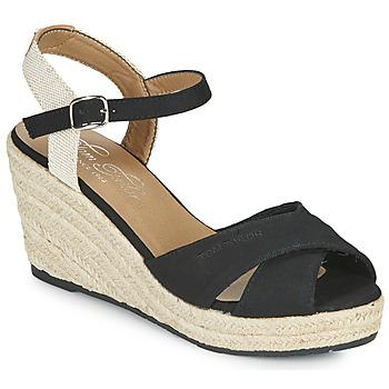 Chaussures Femme Sandales et Nu-pieds Tom Tailor NOUMI Noir