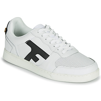 Chaussures Homme Baskets basses Faguo HAZEL LEATHER Blanc / Marine