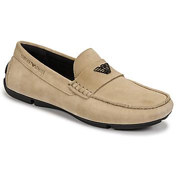 Chaussures Homme Mocassins Emporio Armani ITOLIA Beige