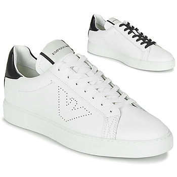 Chaussures Homme Baskets basses Emporio Armani BELGA Blanc