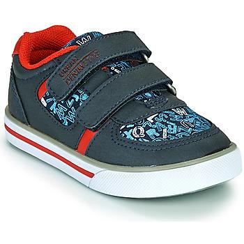 Chaussures Garçon Baskets basses Chicco FREDERIC Bleu / Rouge