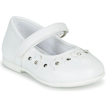 Chaussures Fille Ballerines / babies Chicco CILVIA Blanc