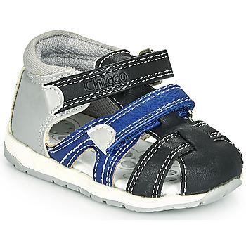 Chaussures Garçon Sandales et Nu-pieds Chicco GABRIEL Bleu / Gris