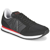 Chaussures Homme Baskets basses Armani Exchange ESPACIA Noir / Rouge