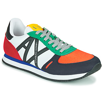 Chaussures Homme Baskets basses Armani Exchange ESPACIA Multicolore