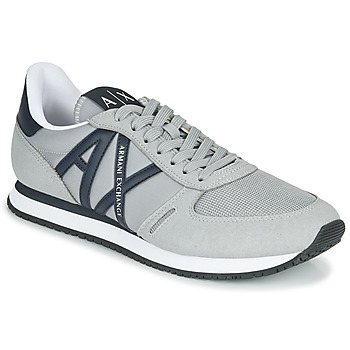 Chaussures Homme Baskets basses Armani Exchange ESPACIA Gris