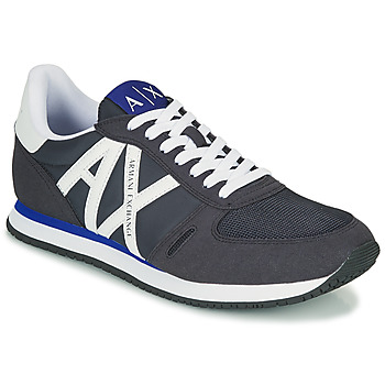 Chaussures Homme Baskets basses Armani Exchange ESPACIA Bleu Marine