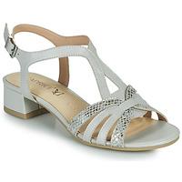 Chaussures Femme Sandales et Nu-pieds Caprice 28201-233 Beige