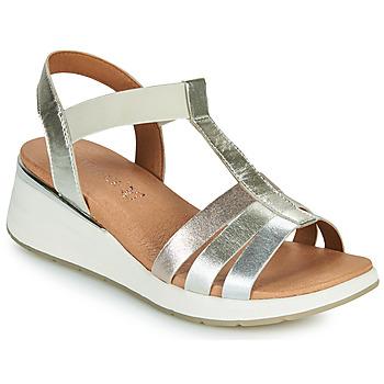 Chaussures Femme Sandales et Nu-pieds Caprice 28308-970 Argenté