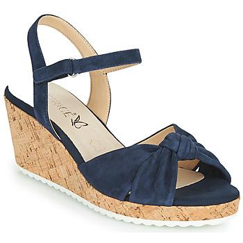 Chaussures Femme Sandales et Nu-pieds Caprice 28713-857 Noir