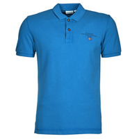 Vêtements Homme Polos manches courtes Napapijri ELBAS 4 Bleu