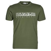 Vêtements Homme T-shirts manches courtes Napapijri SALLAR SS Vert