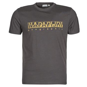 Vêtements Homme T-shirts manches courtes Napapijri SALLAR SS Gris Foncé
