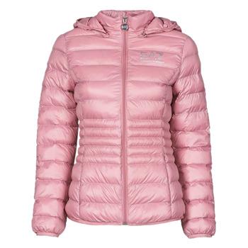 Vêtements Femme Doudounes Emporio Armani EA7 DOLLA Rose