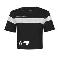 Vêtements Femme T-shirts manches courtes Train Logo Series M Tee 1A7 THINEA Noir / Blanc