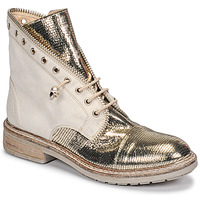 Chaussures Femme Boots Fru.it 6846-480-PLATINO Doré
