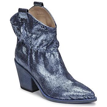 Chaussures Femme Bottines Fru.it 6901-376-BLUE Bleu