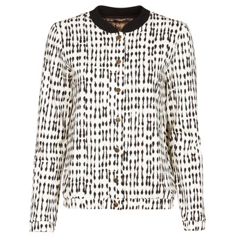 Vêtements Femme Vestes / Blazers One Step MADANY Ecru / Noir