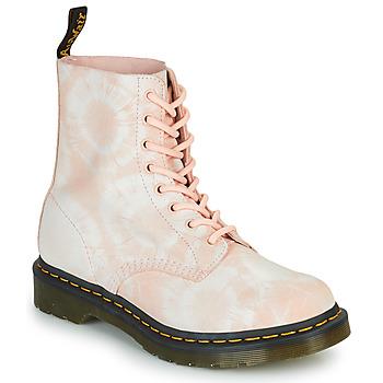 Chaussures Femme Boots Dr Martens 1460 PASCAL Beige