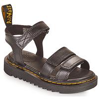 Chaussures Fille Sandales et Nu-pieds Dr Martens KLAIRE J Noir