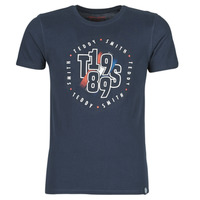 Vêtements Homme T-shirts manches courtes Teddy Smith JEAN Marine