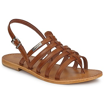 Chaussures Femme Sandales et Nu-pieds Les Tropéziennes par M Belarbi HERISSON Tan
