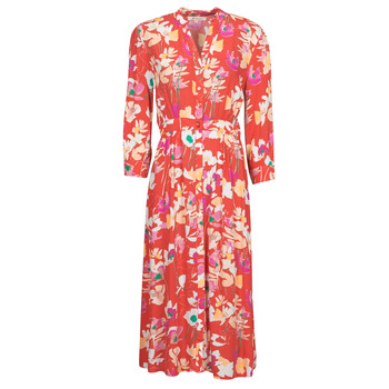 Vêtements Femme Robes longues Rip Curl SUGAR BLOOM DRESS Rouge