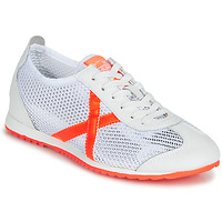 Chaussures Femme Baskets basses Munich OSAKA 456 Blanc / Orange