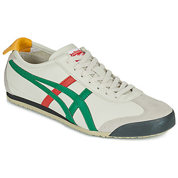 Chaussures Baskets basses Onitsuka Tiger MEXICO 66 Blanc / Vert / Rouge