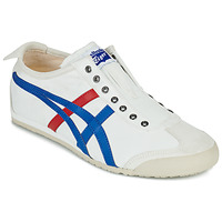 Chaussures Baskets basses Onitsuka Tiger MEXICO 66 SLIP ON Blanc / bleu / rouge