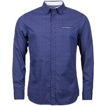 Vêtements Homme Chemises manches longues Jack & Jones Premium - hauts BLEU MARINE