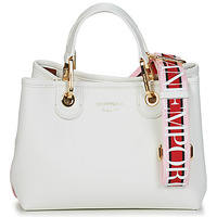 Sacs Femme Sacs porté main Emporio Armani BORSA SHOPPING Blanc/Multicolore