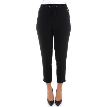 Vêtements Femme Chinos / Carrots Beatrice B 20FA1384STAR Noir