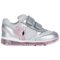 Chaussures Fille Baskets mode Geox Basket b todo g. c rose