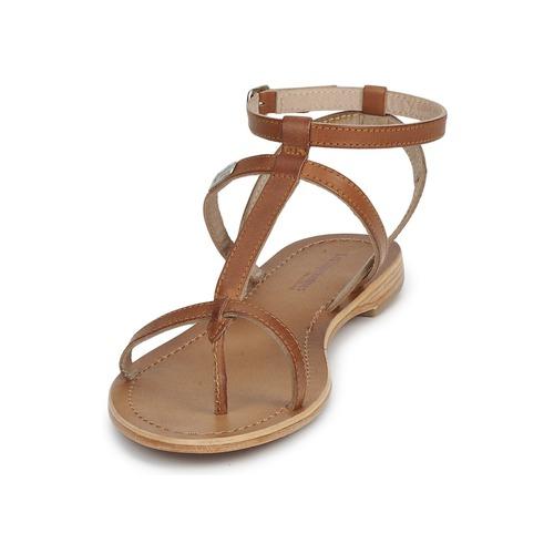 Tropéziennes Belarbi Sandales Nu pieds Hilan Tan Par Et Les Femme M m8Ov0Nnw