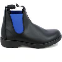 Chaussures Homme Bottes ville L'angolo 0100.06_41 Bleu