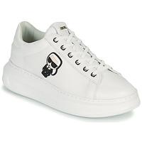 Chaussures Femme Baskets basses Karl Lagerfeld KAPRI KARL IKONIC LO LACE Blanc