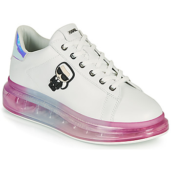 Chaussures Femme Baskets basses Karl Lagerfeld KAPRI KUSHION KARL IKONIC LO LACE Blanc / Multicolore