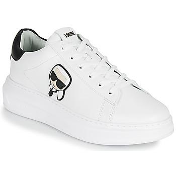Chaussures Homme Baskets basses Karl Lagerfeld KAPRI MENS Karl Ikonic 3D Lace Blanc
