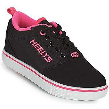 Chaussures Fille Chaussures à roulettes Heelys PRO 20'S Noir / Rose