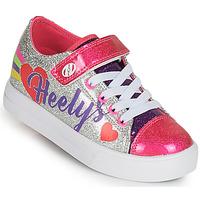 Chaussures Fille Chaussures à roulettes Heelys SNAZZY X2 Argenté / Multicolore