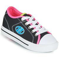 Chaussures Fille Chaussures à roulettes Heelys CLASSIC X2 Noir / Rose / Bleu