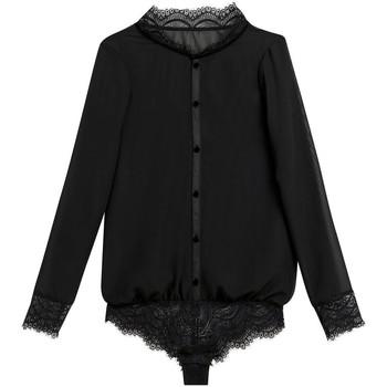 Sous-vêtements Femme Bodys Pommpoire Body noir Magique Noir
