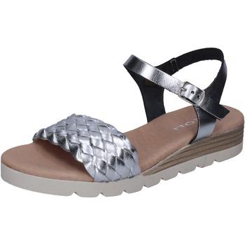 Chaussures Femme Sandales et Nu-pieds Rizzoli BK606 Argenté